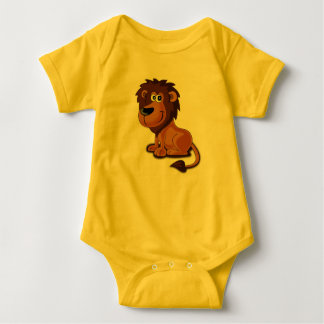 Lion Cartoon Baby Bodysuit