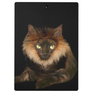 Lion cat clipboards