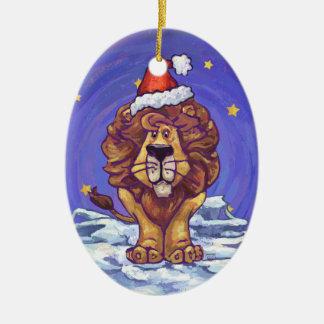 Lion Christmas Christmas Ornament