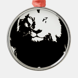 Lion Christmas Ornament