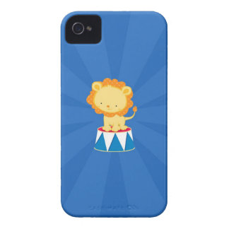 Lion Circus iPhone 4/4S Case-Mate Barely There iPhone 4 Cover