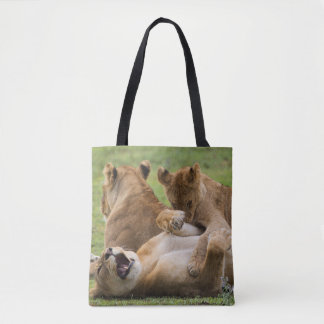 Lion Clubs Playing Tote Bag