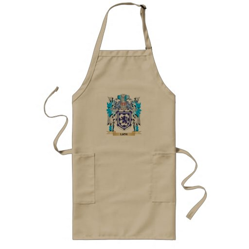 Lion Coat of Arms - Family Crest Apron