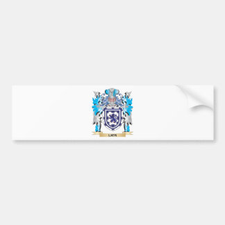 Lion Coat of Arms - Family Crest Bumper Stickers
