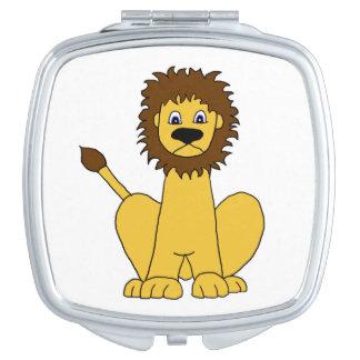 Lion Compact Mirror