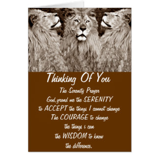 Lion,Courage,Power&Strength_ Card