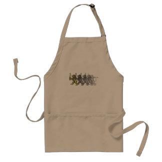 lion crest dash apron