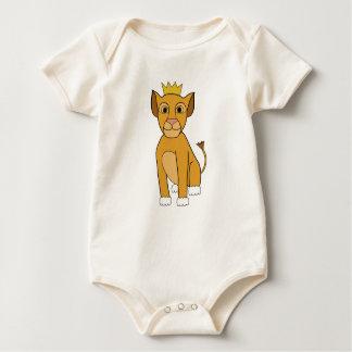 Lion Cub Baby Bodysuit