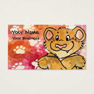 Lion Cub Business Card