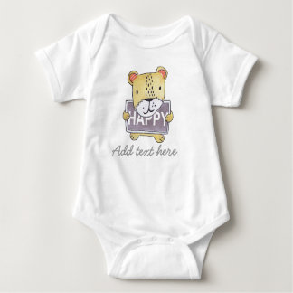 Lion cub Customisable baby bodysuit and Onsie