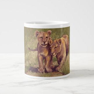 Lion Cubs Jumbo Mug