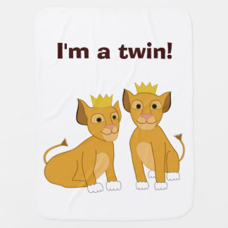 Lion Cubs Pram blanket