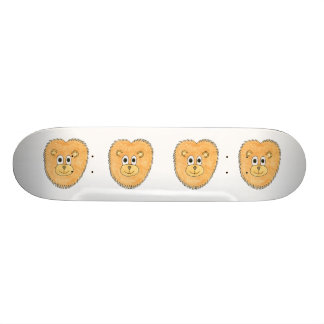 Lion. Custom Skate Board