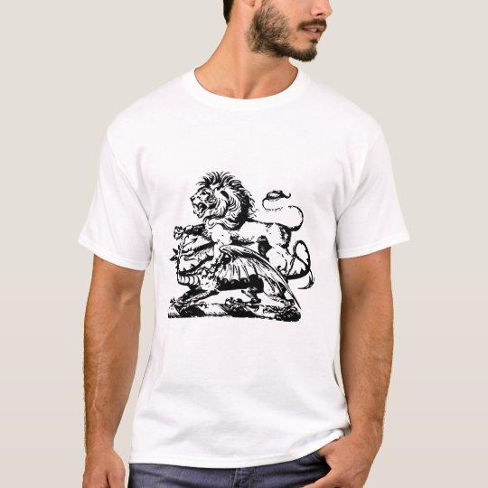 Lion Defeat Dragon T-shirt