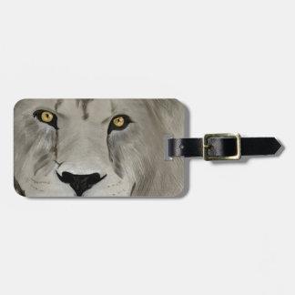 Lion Digital Painting Travel Bag Tag