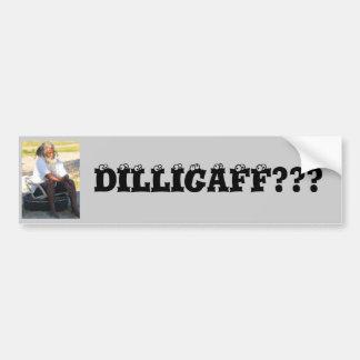 Lion, DILLIGAFF??? Car Bumper Sticker