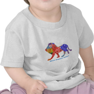 LION   -  dot painted Artistic work T Shirt