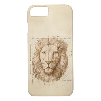 Lion Drawing iPhone 8/7 Case