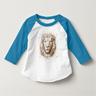 Lion Drawing T-Shirt