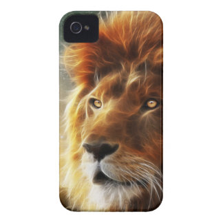 Lion face .King of beasts abstraction Case-Mate iPhone 4 Case