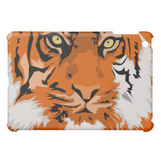 lion face red iPad mini cover