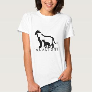 Lion Family (white version) T-shirts