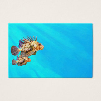Lion Fish Business Card