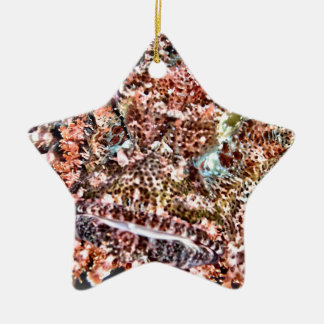 Lion Fish Christmas Ornament