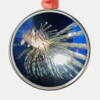 Lion fish christmas ornament