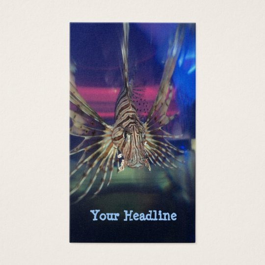 Lion Fish no2 Business Card