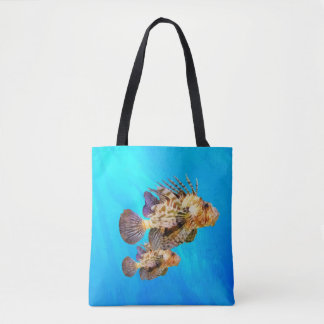 Lion Fish Tote Bag