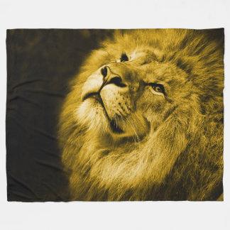Lion Fleece Blanket, Large