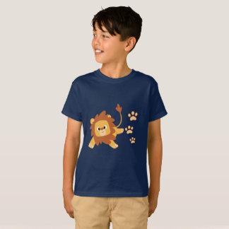 Lion Footprint Kids T-shirt