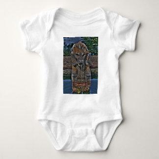 Lion Fountain Baby Bodysuit