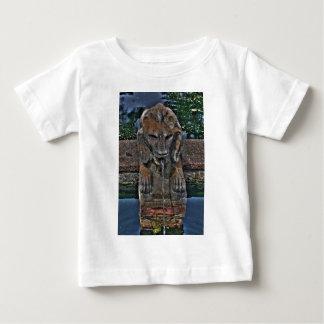 Lion Fountain Baby T-Shirt