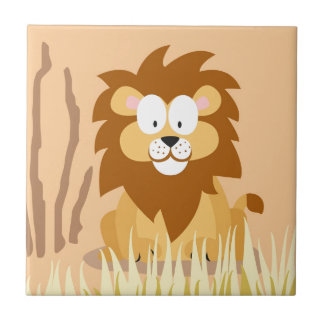 Lion from my world animals serie tile