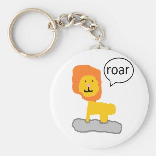Lion fun key chain