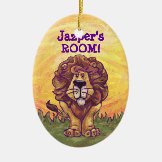 Lion Gifts & Accessories Christmas Ornament
