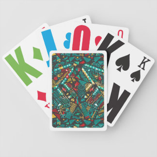 Lion Guard | African Pattern Bicycle Playing Cards