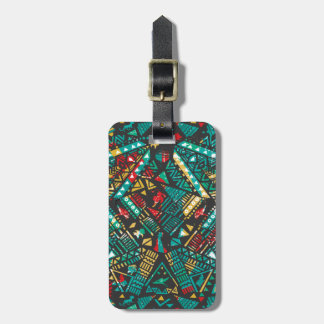 Lion Guard | African Pattern Luggage Tag