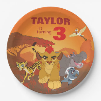 Lion Guard | Birthday 9 Inch Paper Plate
