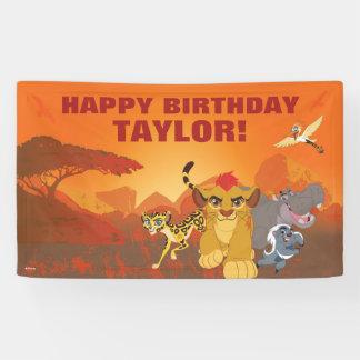 Lion Guard | Birthday Banner