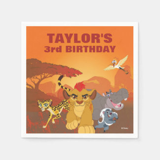 Lion Guard | Birthday Paper Serviettes