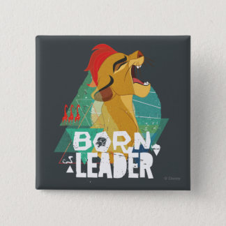 Lion Guard   Born Leader Kion 15 Cm Square Badge