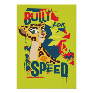 Lion Guard | Built For Speed Fuli Poster