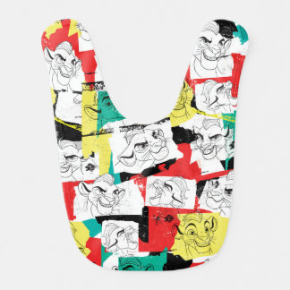 Lion Guard | Kion Expressions Pattern Bib
