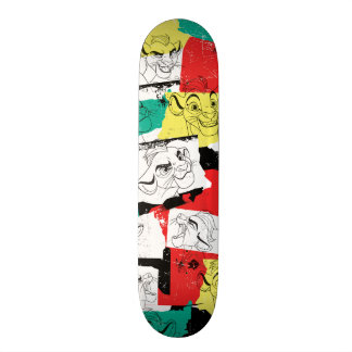 Lion Guard | Kion Expressions Pattern Custom Skateboard