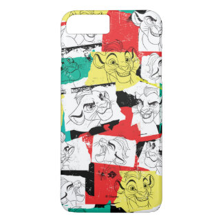 Lion Guard | Kion Expressions Pattern iPhone 8 Plus/7 Plus Case