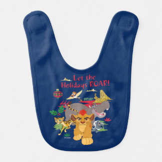 Lion Guard | Let The Holidays Roar Bib