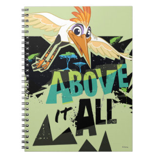 Lion Guard | Ono, Above It All Notebooks